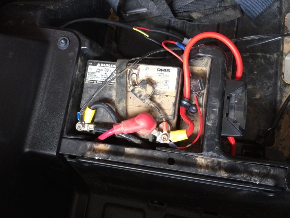 medium resolution of blue sea fuse block polaris rzr forum rzr forums net plug fuse box rzr fuse box