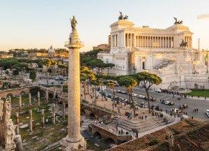 Rzym - Kolumna Trajana