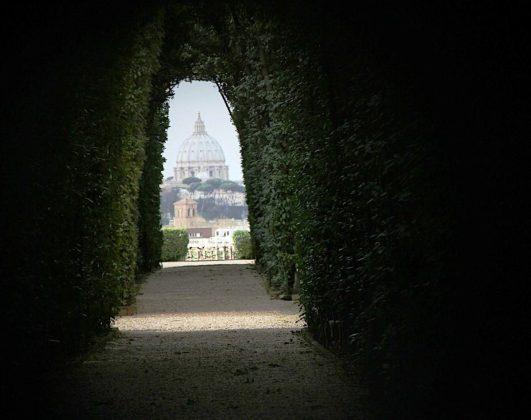 Rzym - dziurka od klucza