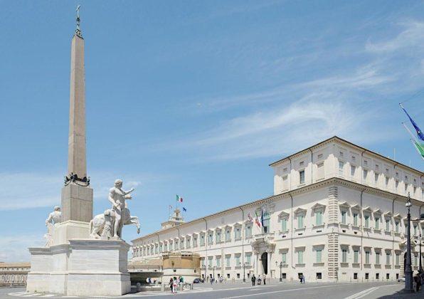 Rzym - Pałac Prezydencki na Kwirynale
