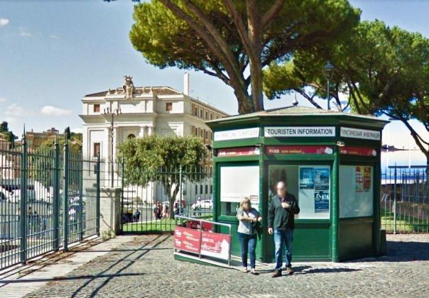 Rzym - Zamek Anioła - punkt informacji turystycznej