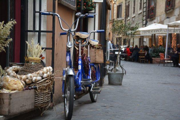 Rowerem po Rzymie 1