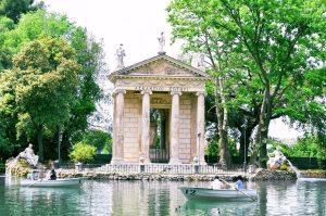 Rzym - Villa Borghese - Świątynia Diany