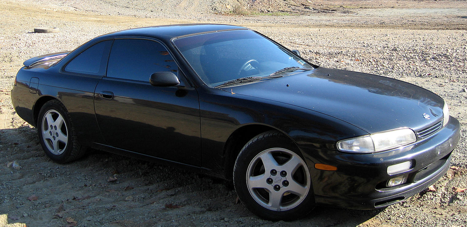 hight resolution of  nissan 240sx se s14 1995 black on black