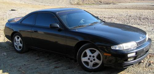 small resolution of  nissan 240sx se s14 1995 black on black