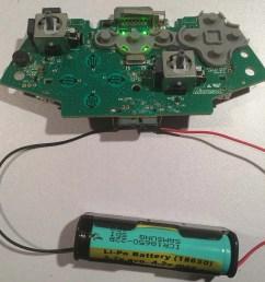 li po lithium battery test on a xbox 360 controller [ 1440 x 1080 Pixel ]