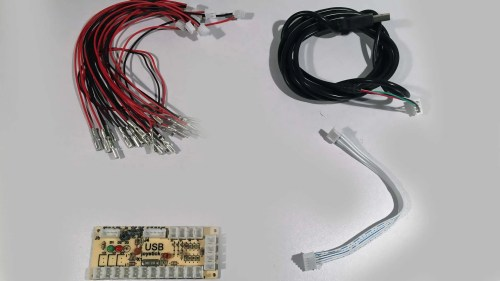 small resolution of zero delay joystick encoder board and cables