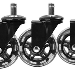 Office Chair Rollerblade Wheels Covers Rentals Calgary Caster Buyer Beware S Config