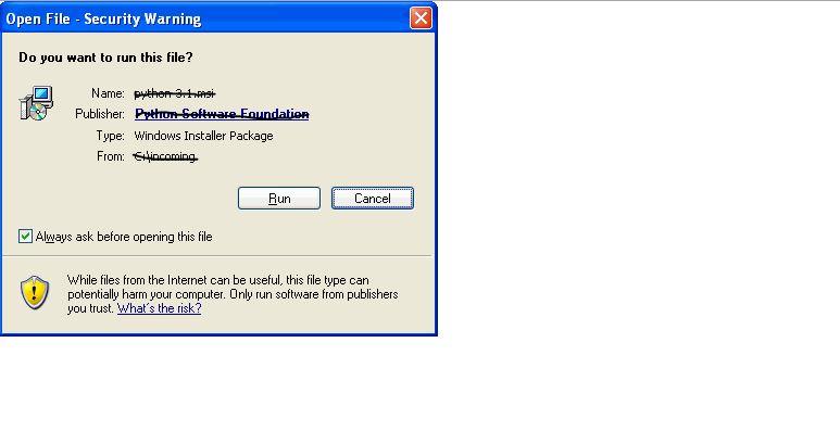 open file security