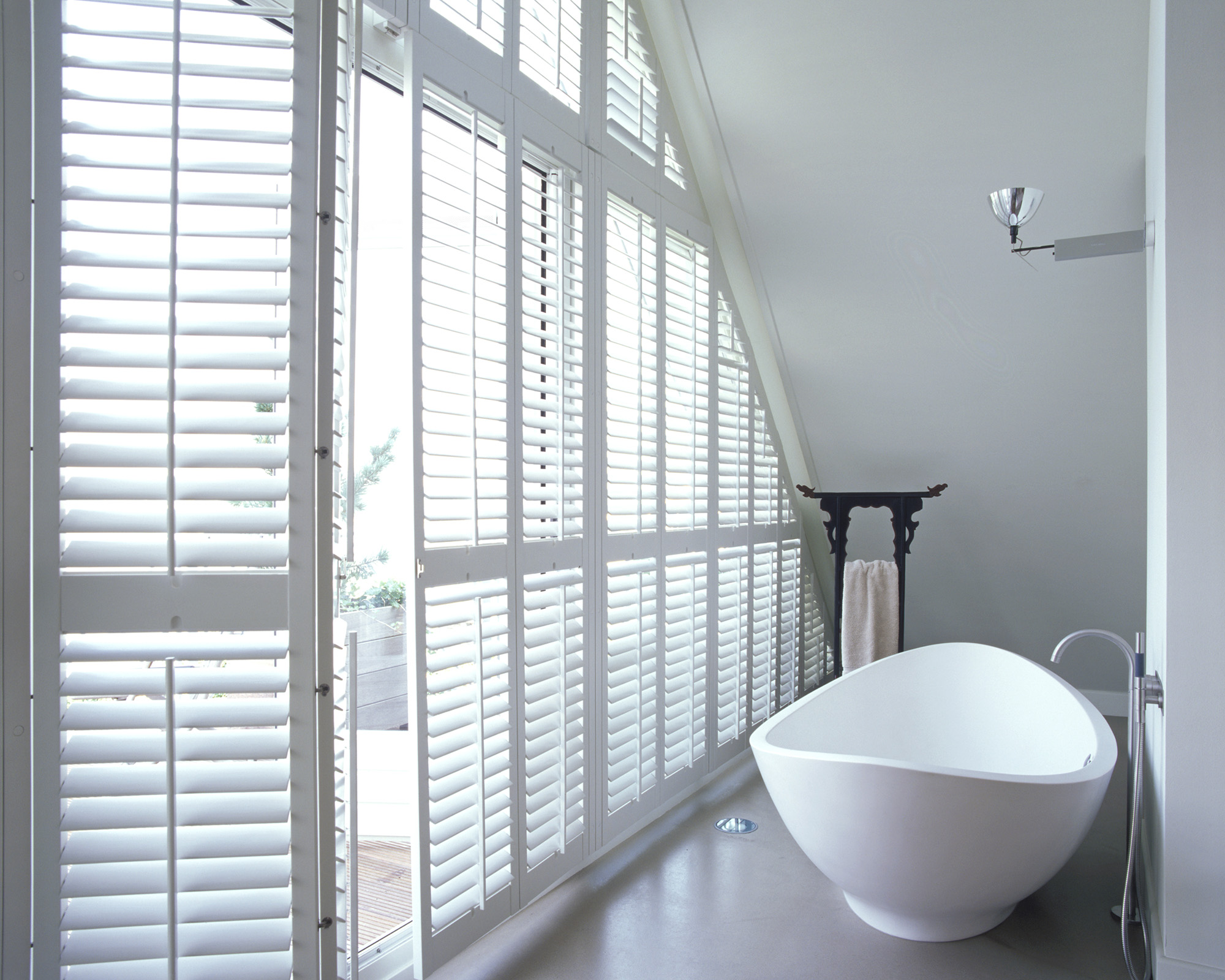 Special Shape Window Shutters Blinds For Unusual Shaped