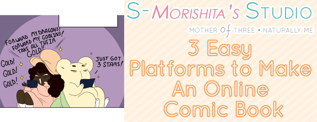 3 Easy Platforms to Make An Online Comic Book