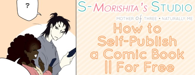 how to self publish a comic book