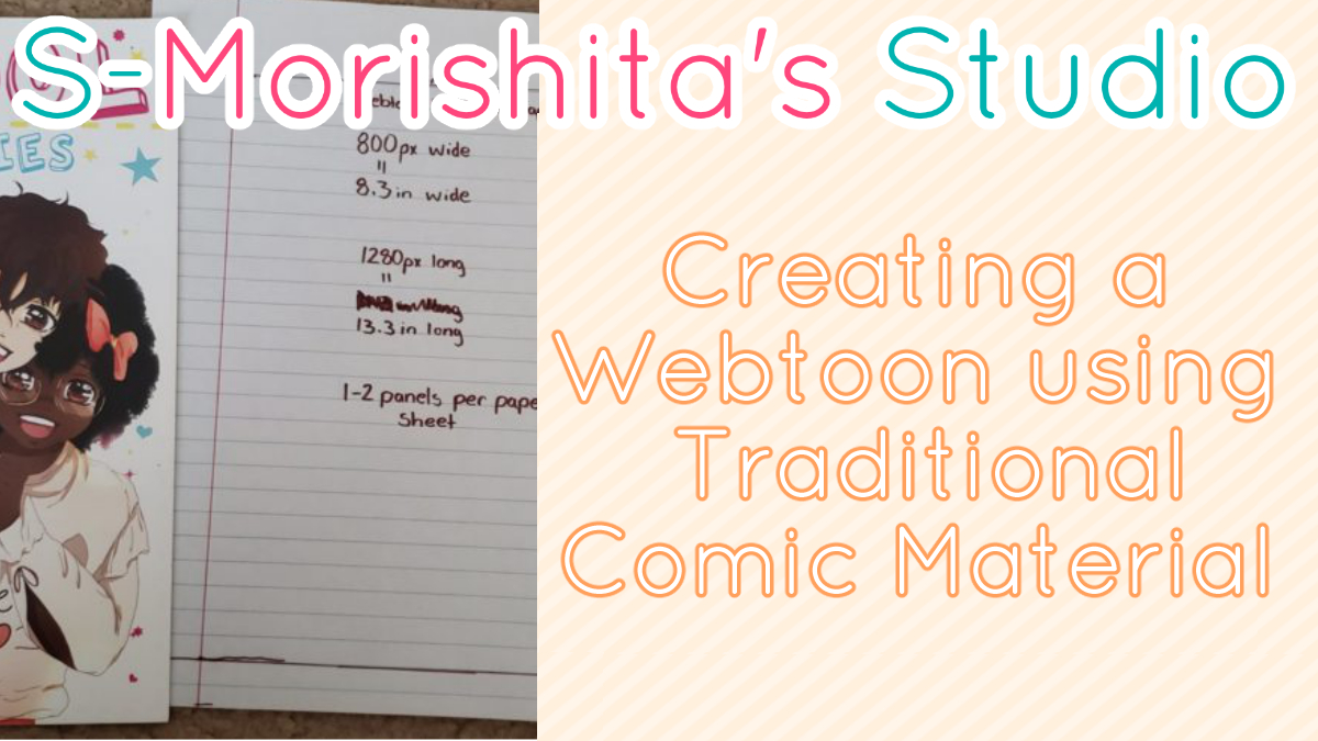 Best Webtoon Comic Format Dimension for Traditional Webtoon Artist