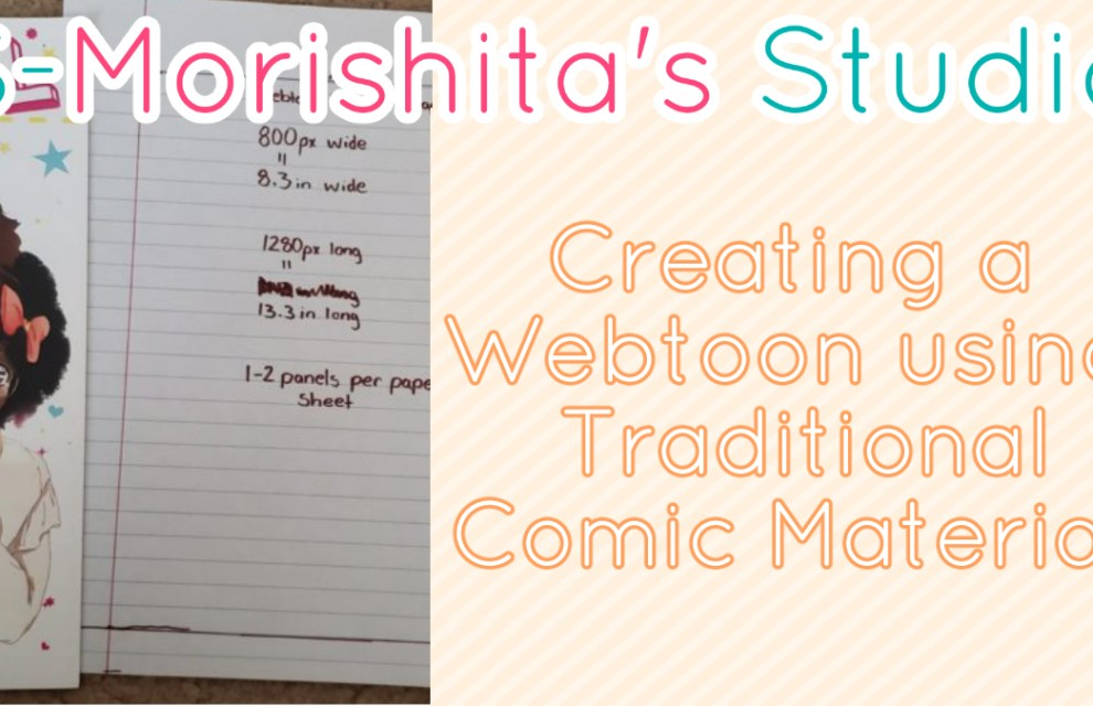 Best Webtoon Comic Format Dimension for Traditional Webtoon Artist