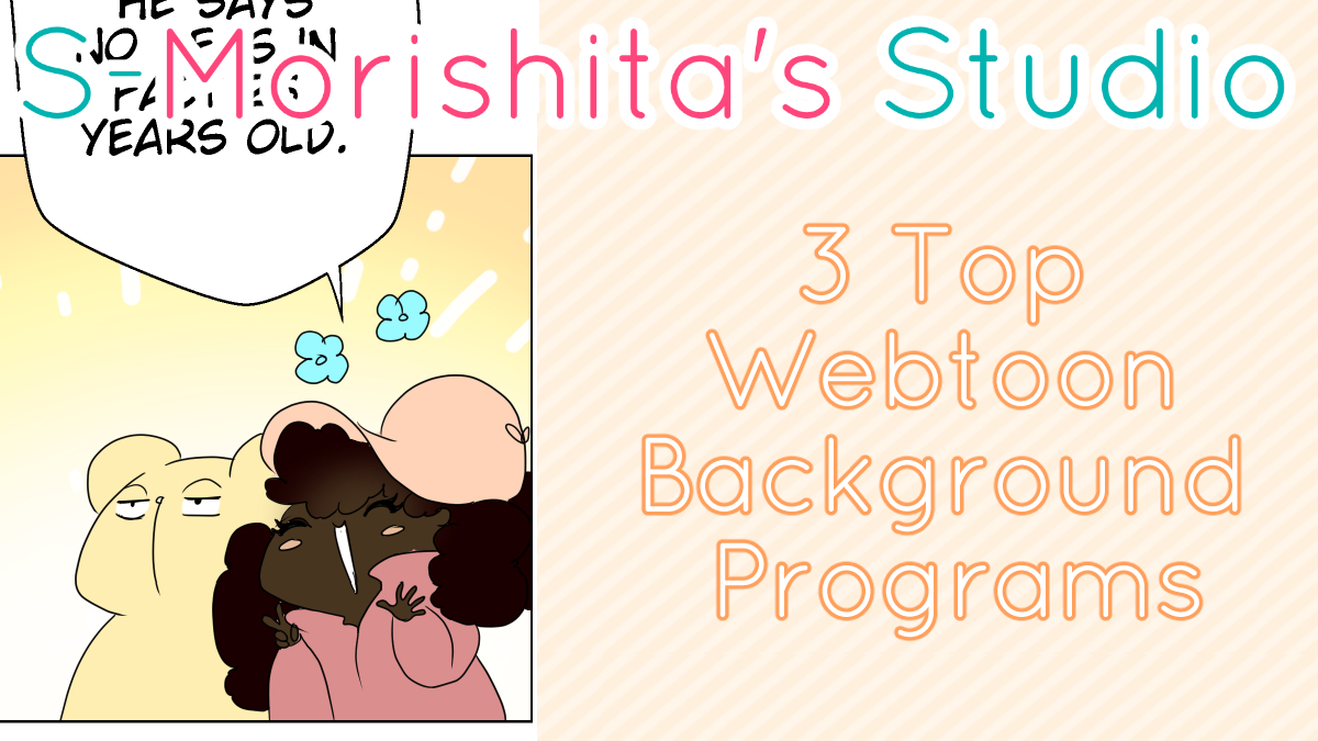 5 Top Webtoon Background Programs