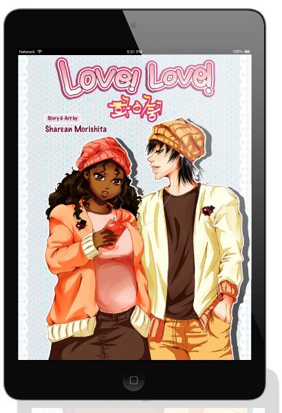 plus size black girl manga main character
