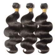 3 bundles body wavy 6a virgin brazilian