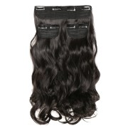 3 pcs curly synthetic clip in hair