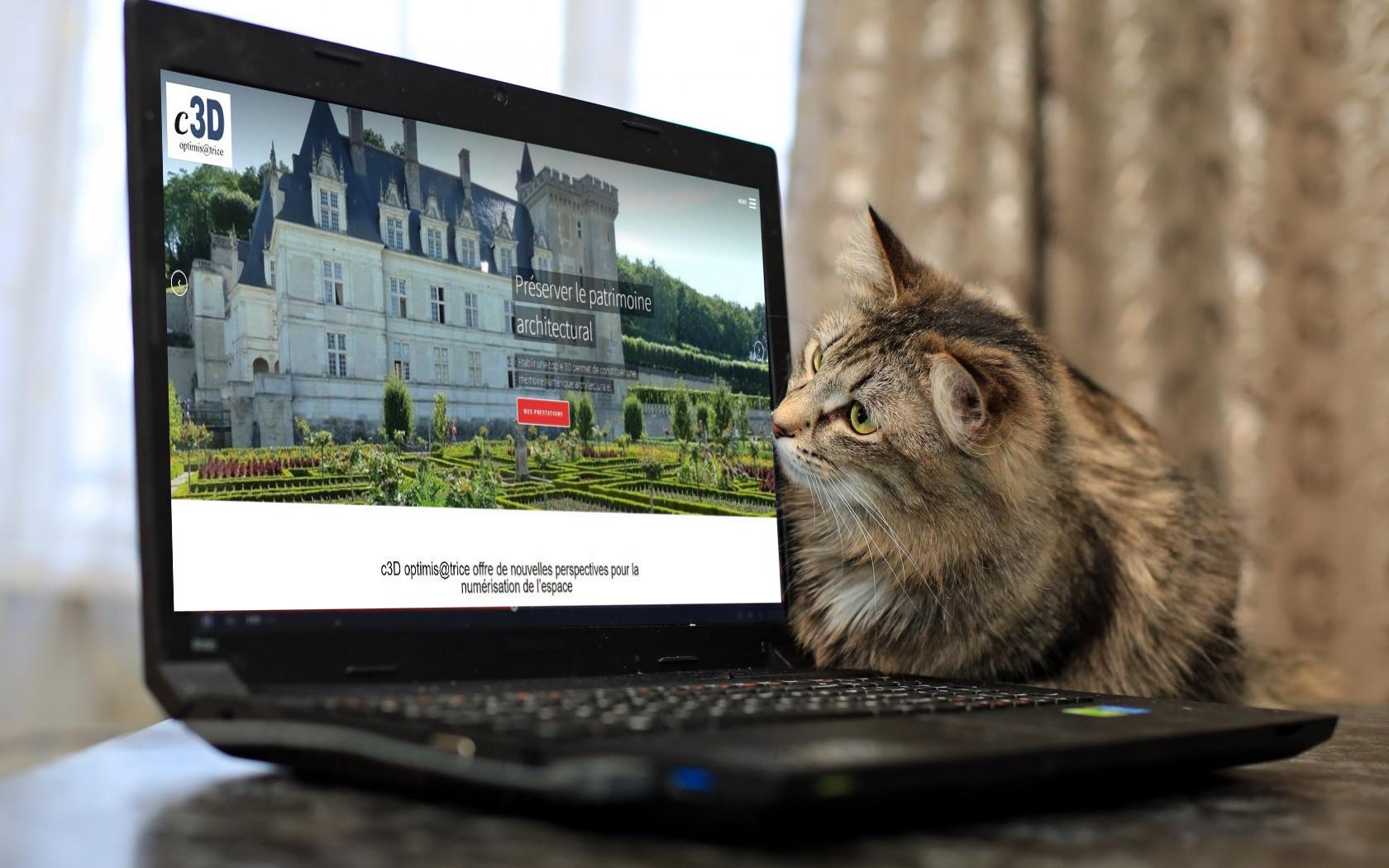 c3D France - site internet