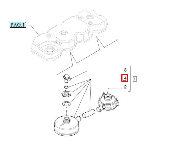 Фильтр сапуна, евро-3 (фильтроэлемент без уголка и клапана