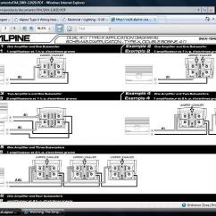Alpine Type X Subwoofer Wiring Diagram 1996 Ford Ranger Front Suspension Hook Up Help S 10 Forum Click Image For Larger Version Name Untitled Jpg Views 1480 Size 83 8
