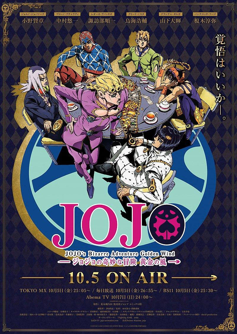 Jojo Part 5 Stream