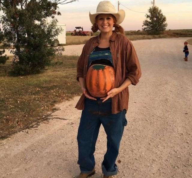 Fantasias de halloween: Mamãe agricultora
