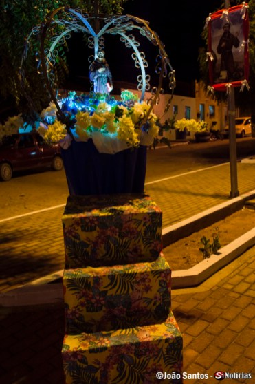 A ornamentação foi criada pela Secretaria Municipal de Cultura