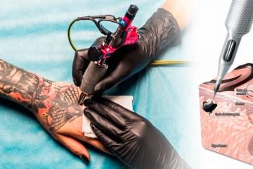 Como funciona uma máquina de tatuagem?