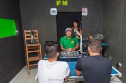 Entrevista com Alam Rocha e Júlio Cezar na Rádio Serra Linda – Foto: João Santos/ S1 Notícias