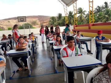 Evento foi realizado na quadra poliesportiva da cidade – Foto/Reprodução