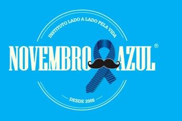Começa o Novembro Azul, mês da campanha de prevenção do câncer de próstata