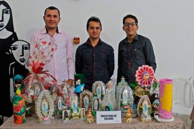 Murilo, Damião e Antônio no evento – Foto/Sara Rabelo