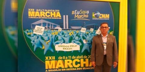 Prefeito Djalma Alves participa da macha em defesa dos municípios em Brasília