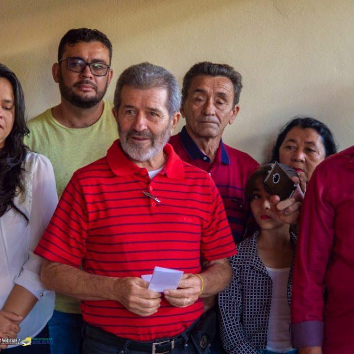 Gonzaga Patriota visita Solidão– Foto: João Santos/ S1 Notícias