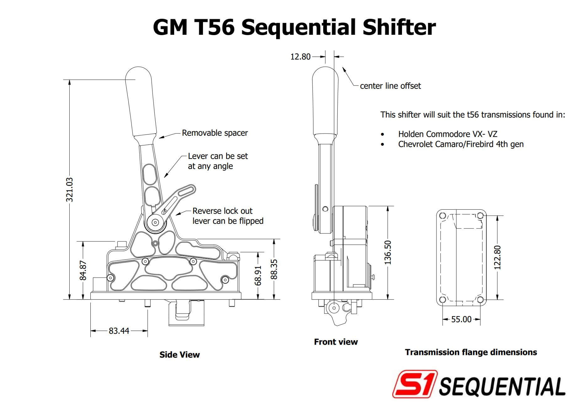 Sequential shifter : T56 GM