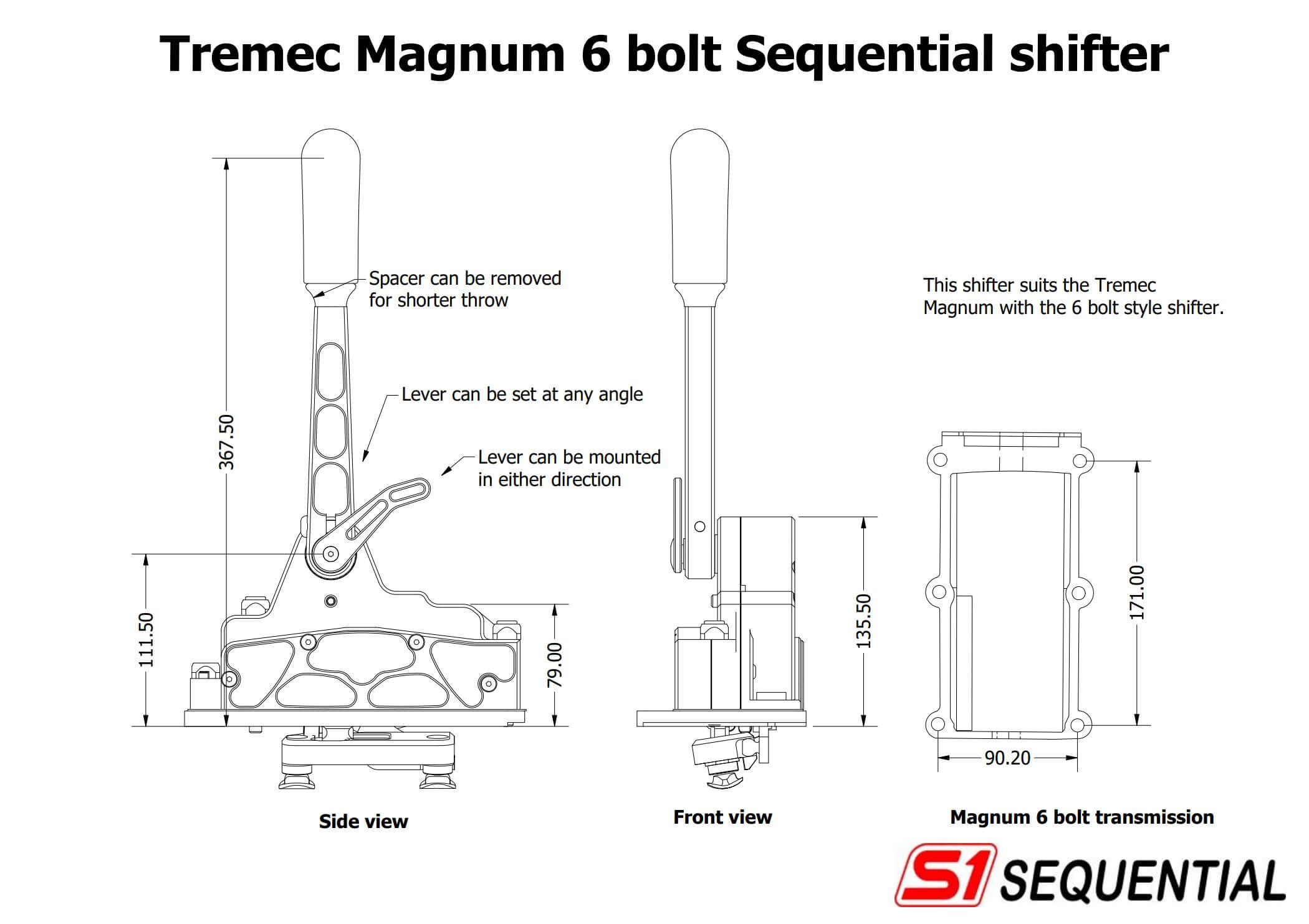 Sequential Shifter: Magnum