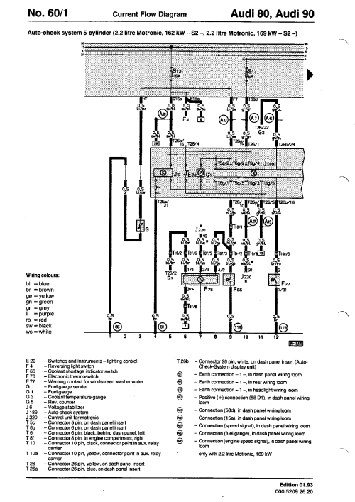 small resolution of wiring diagrams component lookup rh s2 audi co uk audi s2 3b wiring diagram