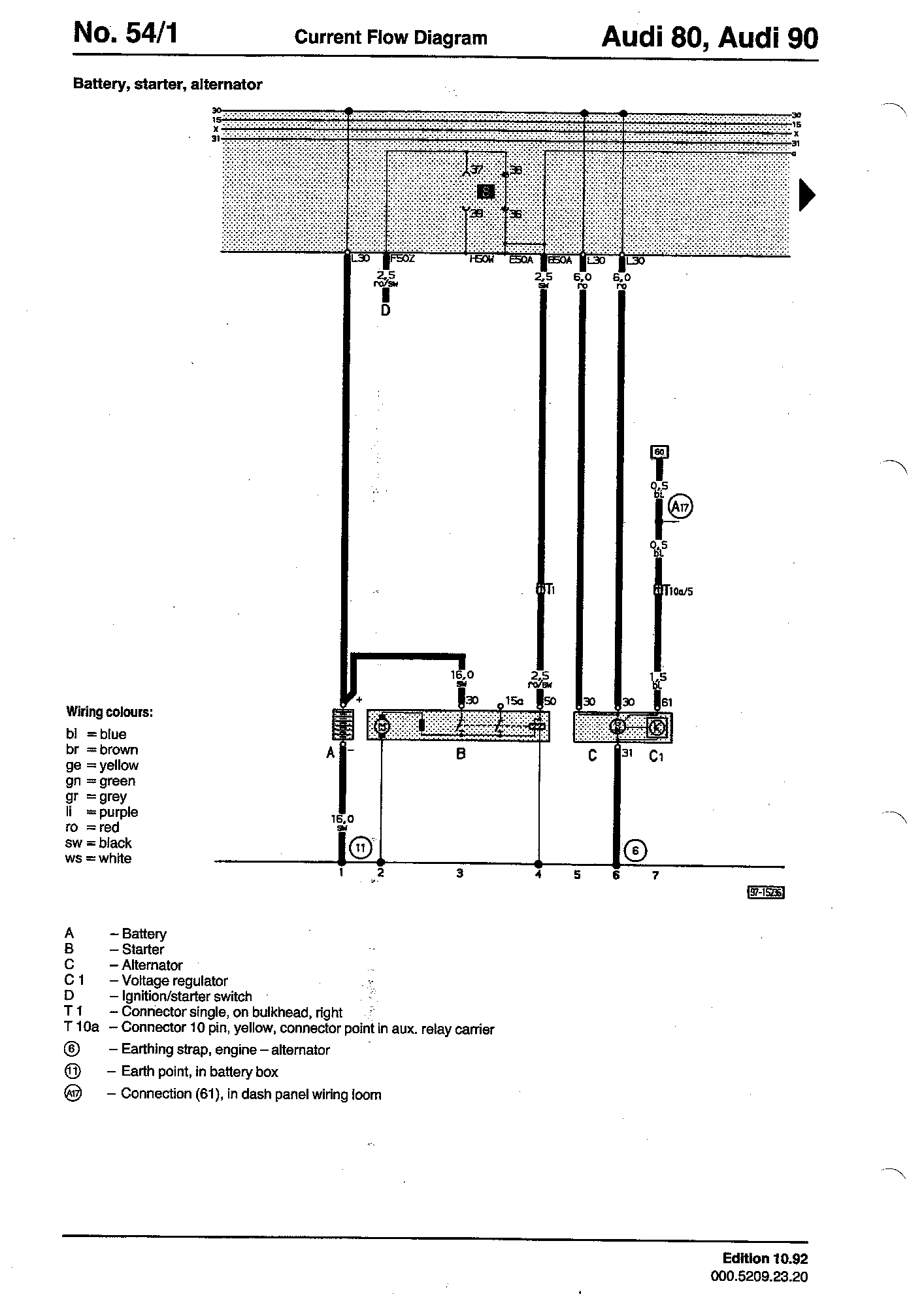 hight resolution of ignition starter switch d
