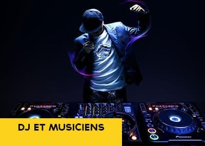 DJ et musiciens