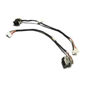 Connecteur alimentation DC Power Jack + Câble pour HP