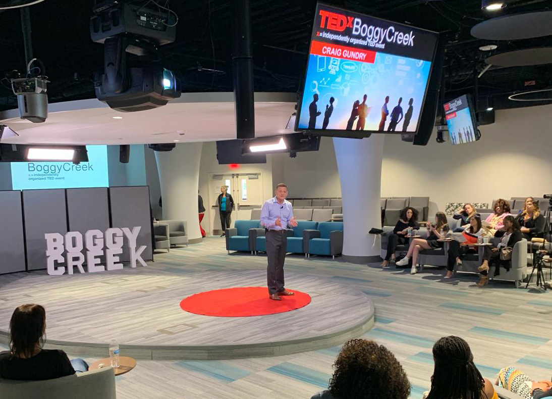 S2's Craig Gundry Presents at TEDx Boggy Creek