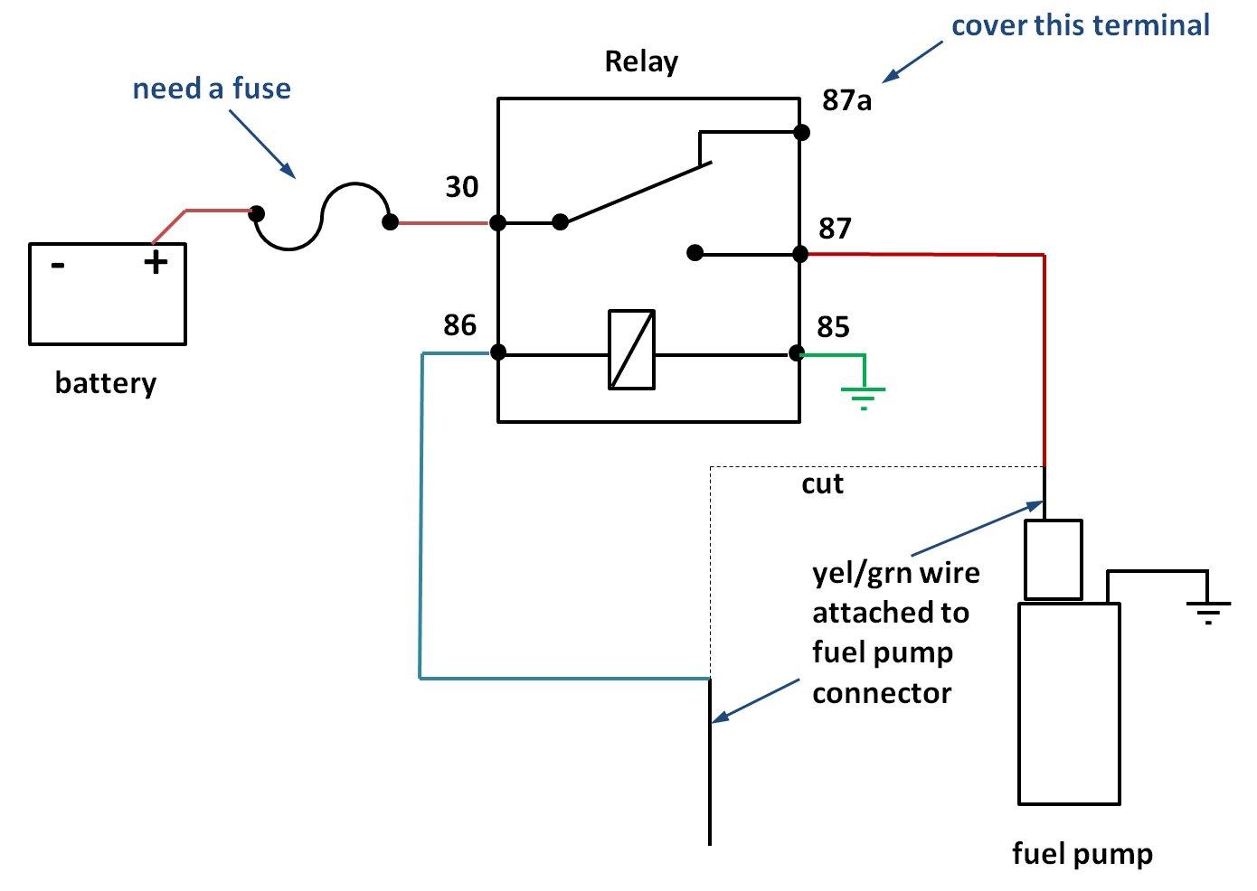 30a relay wiring diagram reese trailer hitch walbro 400 fuel pump install s2ki honda s2000 forums