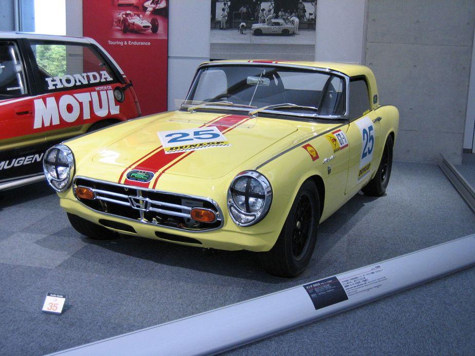honda s800 RSC racecar roadster