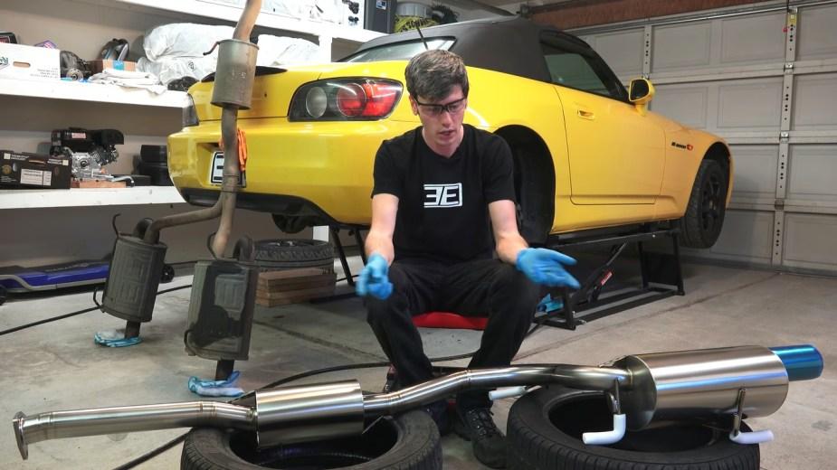 Honda S2000 Cat-Back Exhaust