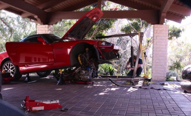 S2KI.com Honda S2000 pull swap engine motor clutch DIY ZentRose