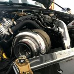 Turbo S2000 Low Angle Engine Bay