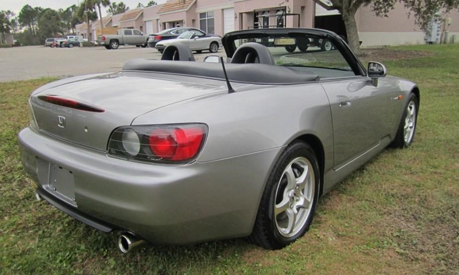 S2KI.com Low Mileage AP1 Honda S2000 BringATrailer auction prices