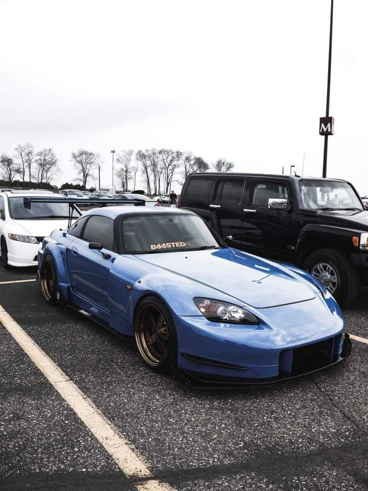Amuse S2000 wide body kit