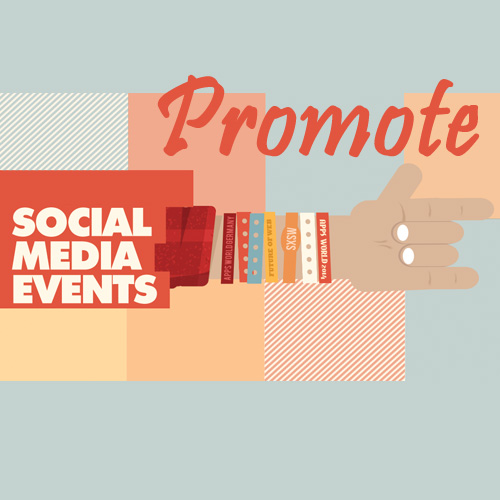 promote events, on social media, s2r studios